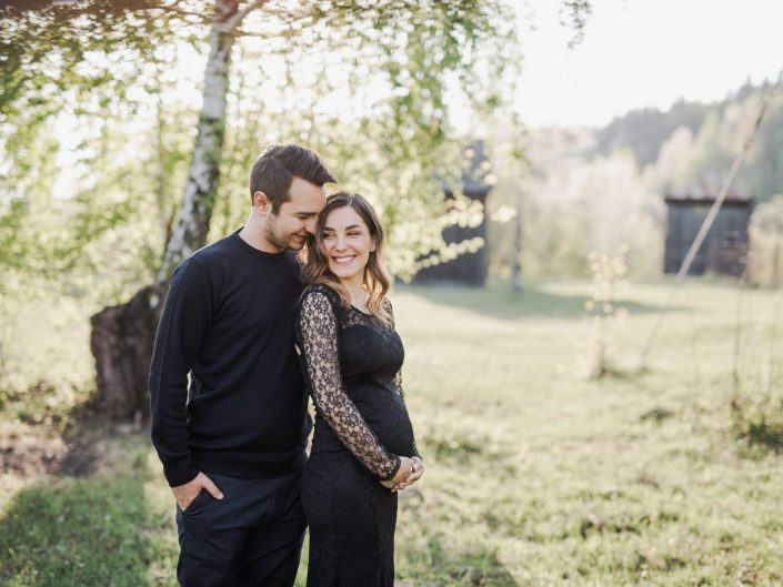 Emi+Livia - maternity session
